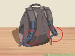 how to choose school backpack
