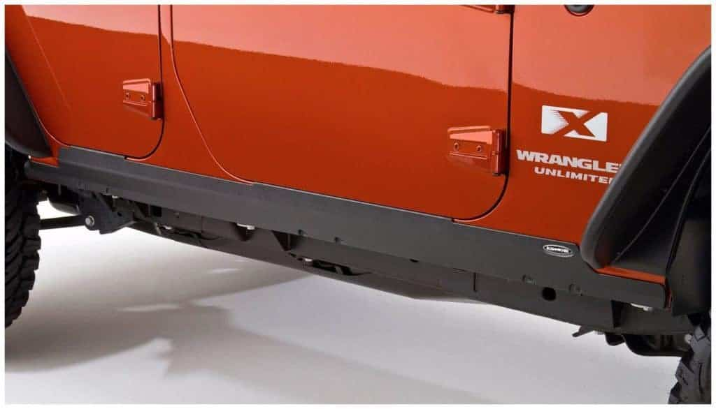 Bushwacker Jeep Trail Armor Rocker Panel & Sill Plate Combo Pair