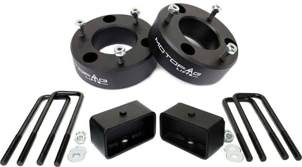 "MotoFab Lifts CH-3F-2R 3"" Front and 2"" Rear Leveling lift kit for 2007-2016 Chevy Silverado Sierra GMC"