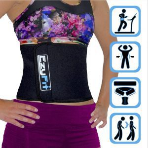 EzyFit Adjustable Waist Trimmer Belt