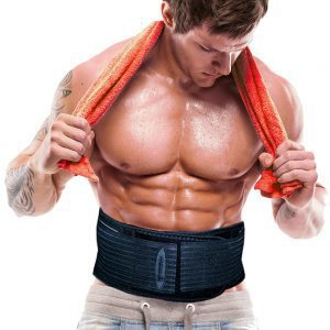 Iron Bull Strength Waist Trimmer Belt
