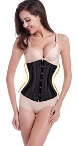 LYZ Women's Full Steel Boned Corset