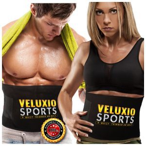 Veluxio Sports Waist Trimmer Ab Belt