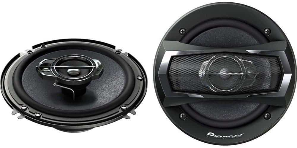 Pioneer TS-A1675R 6-0.5inch 3-Way TS Series Coaxial Car Speakers