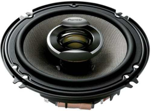 Pioneer TSD1602R 6.5 Inch Two-Way Speakers
