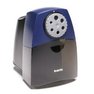 X-ACTO Teacher Pro Electric Pencil Sharpener with SmartStop, Black