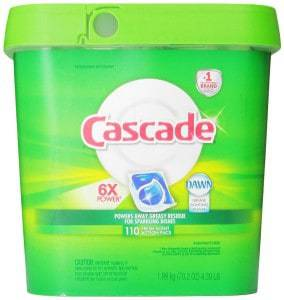 Cascade Actionpacs Dishwasher Detergent, Fresh Scent Review