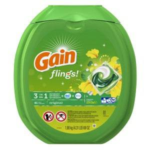 Best Smelling Laundry Detergent Gain Flings Original Laundry Detergent Pacs Review