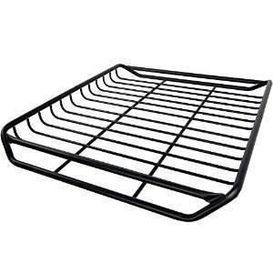 Stingray Low-Profile Roof Rack Cargo Storage Basket
