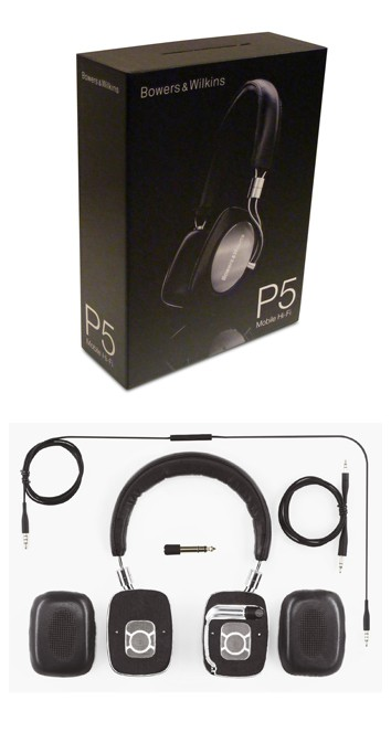 Bowers and Wilkins P5 Headphones Review