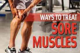 How to get rid of muscles sore?