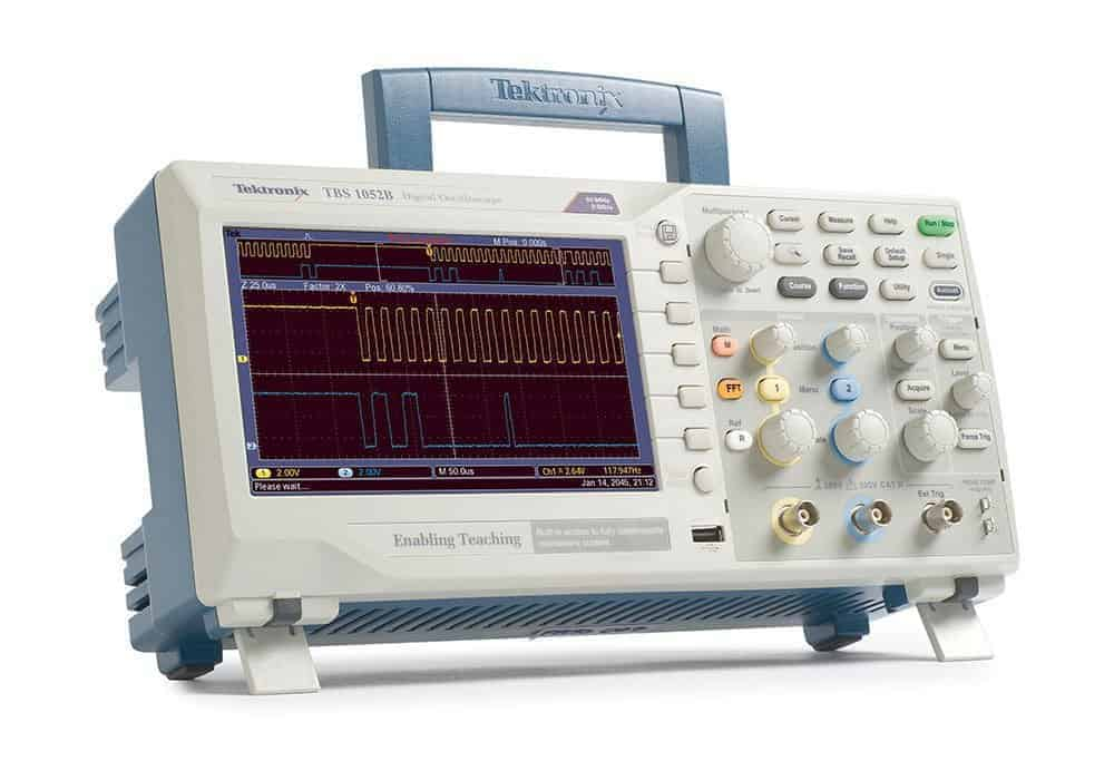Tektronix 1052B 50 MHz, 2 Channel, Digital Oscilloscope, 1 GS/s Sampling, 5-year Warranty