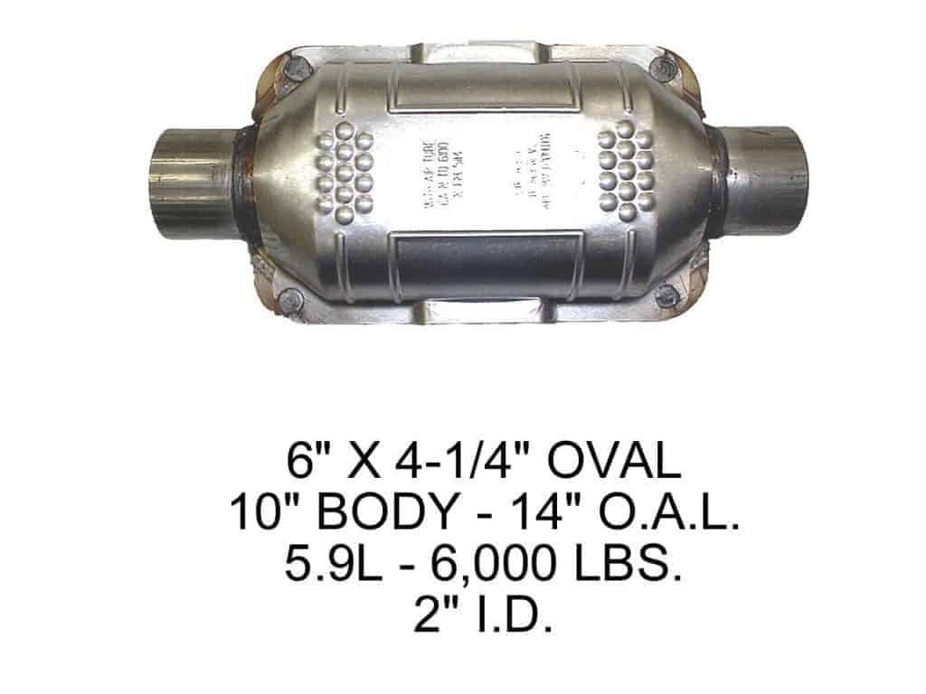 Eastern Manufacturing 70316 Catalytic Converter (Non-CARB Compliant)