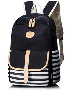 Leaper Canvas School Backpack Review
