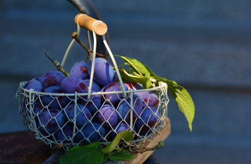 fresh fruits and vegetables to help blood pressure