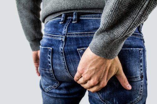 external hemorrhoid discomfort